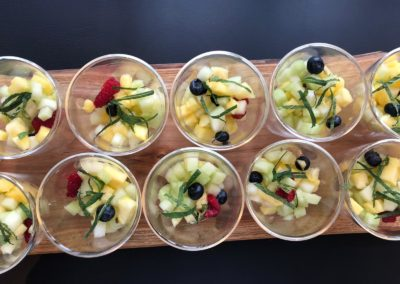 Verse fruitsalade high tea bij Hygge